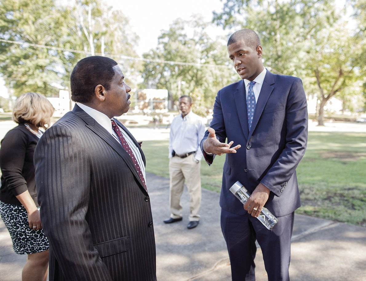 CNN commentator Bakari Sellers shares personal testimony at Talladega College