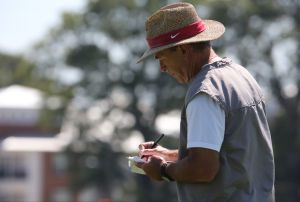 <p>Nick Saban has declined to say who will start at quarterback.</p>