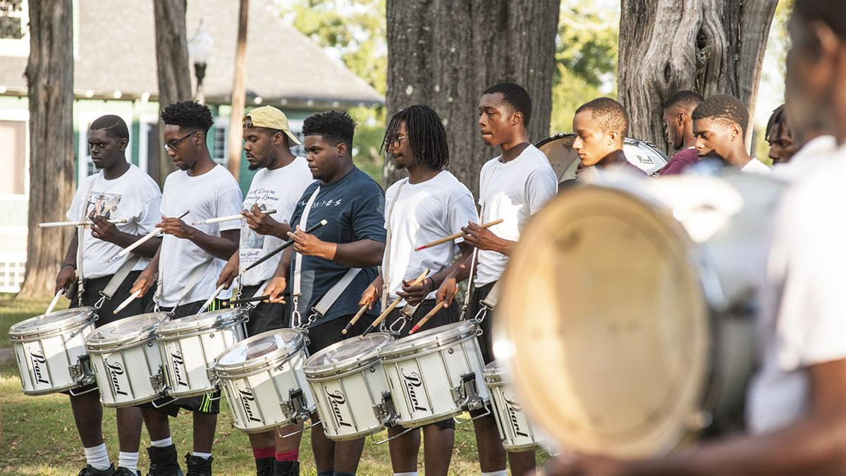Talladega College Drum Section keeps band marching forward (photo gallery)