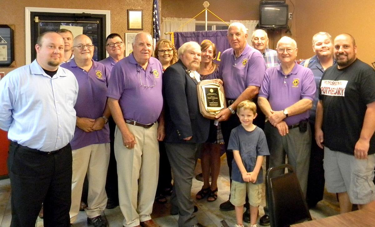 Talladega Lions Club honored