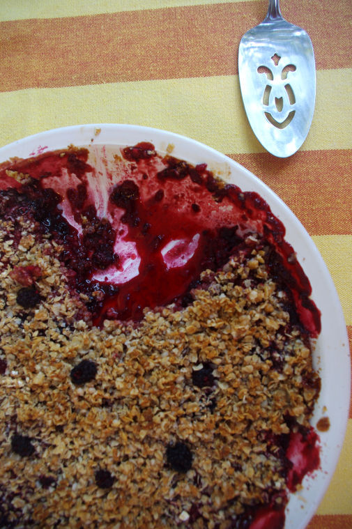 Easiest Berry Crisp