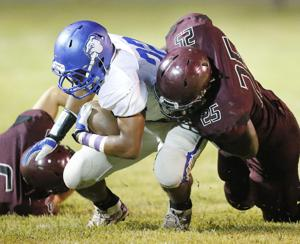 Flying Falcon: Donoho's Foster makes list of finalists for 1A Lineman of the Year
