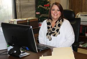 <p>Micki Lipscomb loves her new job at the police department.</p>