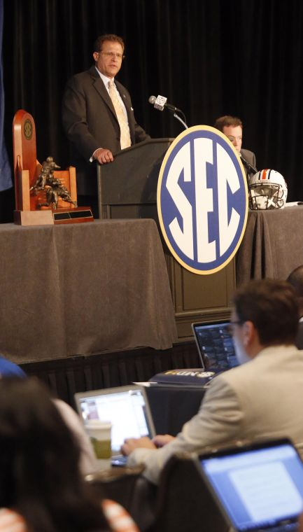 SEC Media Day - Monday 17