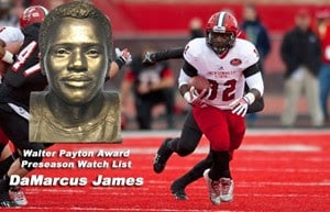 JSU's DaMarcus James on Payton Award watch list