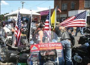 American Flag retirement ceremony