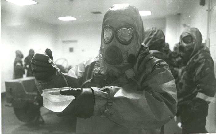 McClellan Chemical Training 6/8
