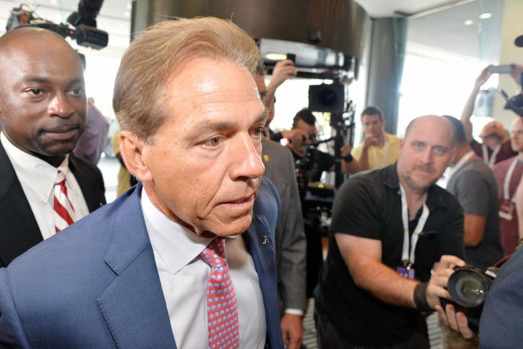 SEC Media Days-Alabama 14