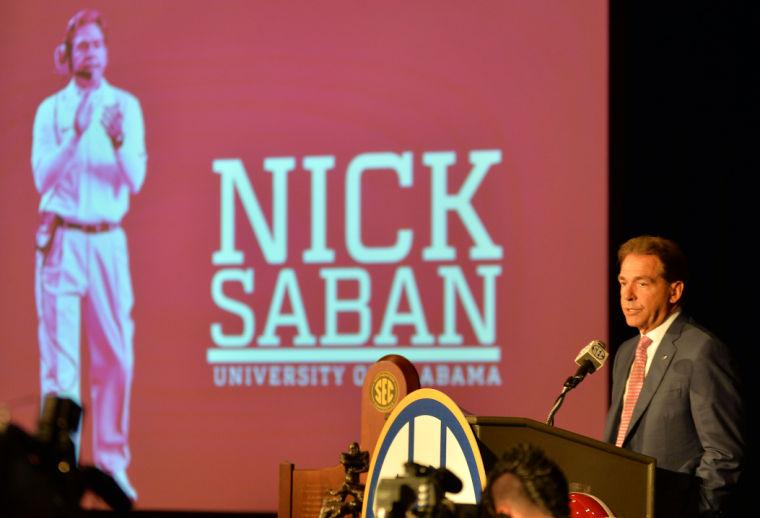 SEC Media Days-Alabama 15