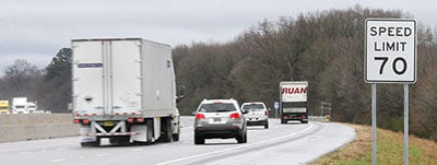 Report: I-20 in Calhoun County ranks high for speed-related wrecks