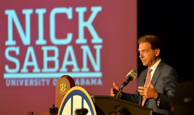 SEC Media Days-Alabama 16