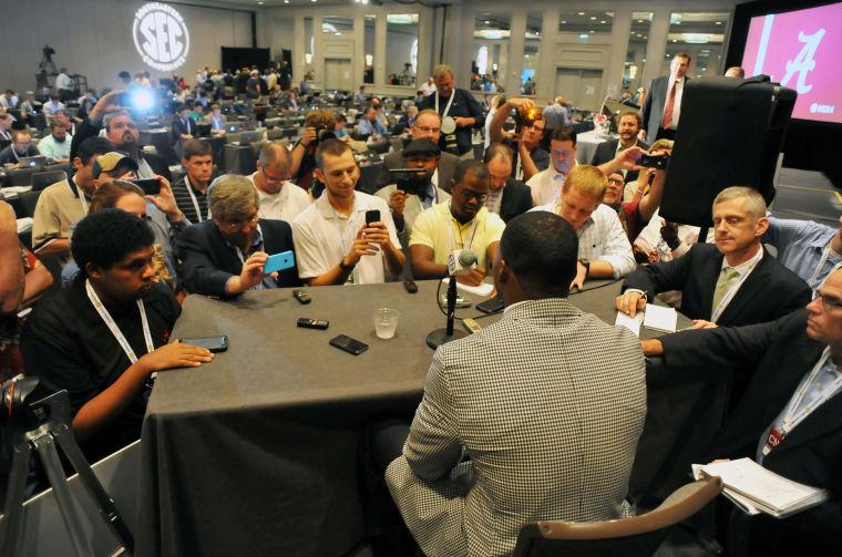 SEC Media Days-Alabama 17