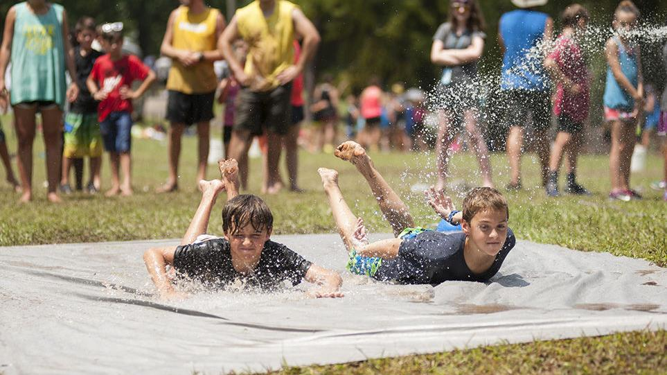 Having fun at Shocco Springs summer camps