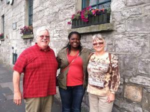 Local musicians visit Ireland
