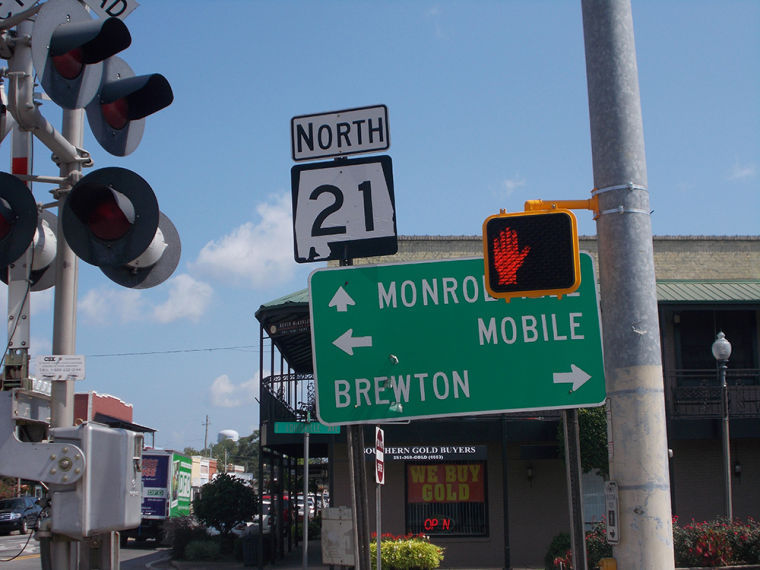 Alabama 21 in Atmore