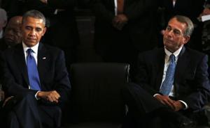 President Obama, House Speaker Boehner