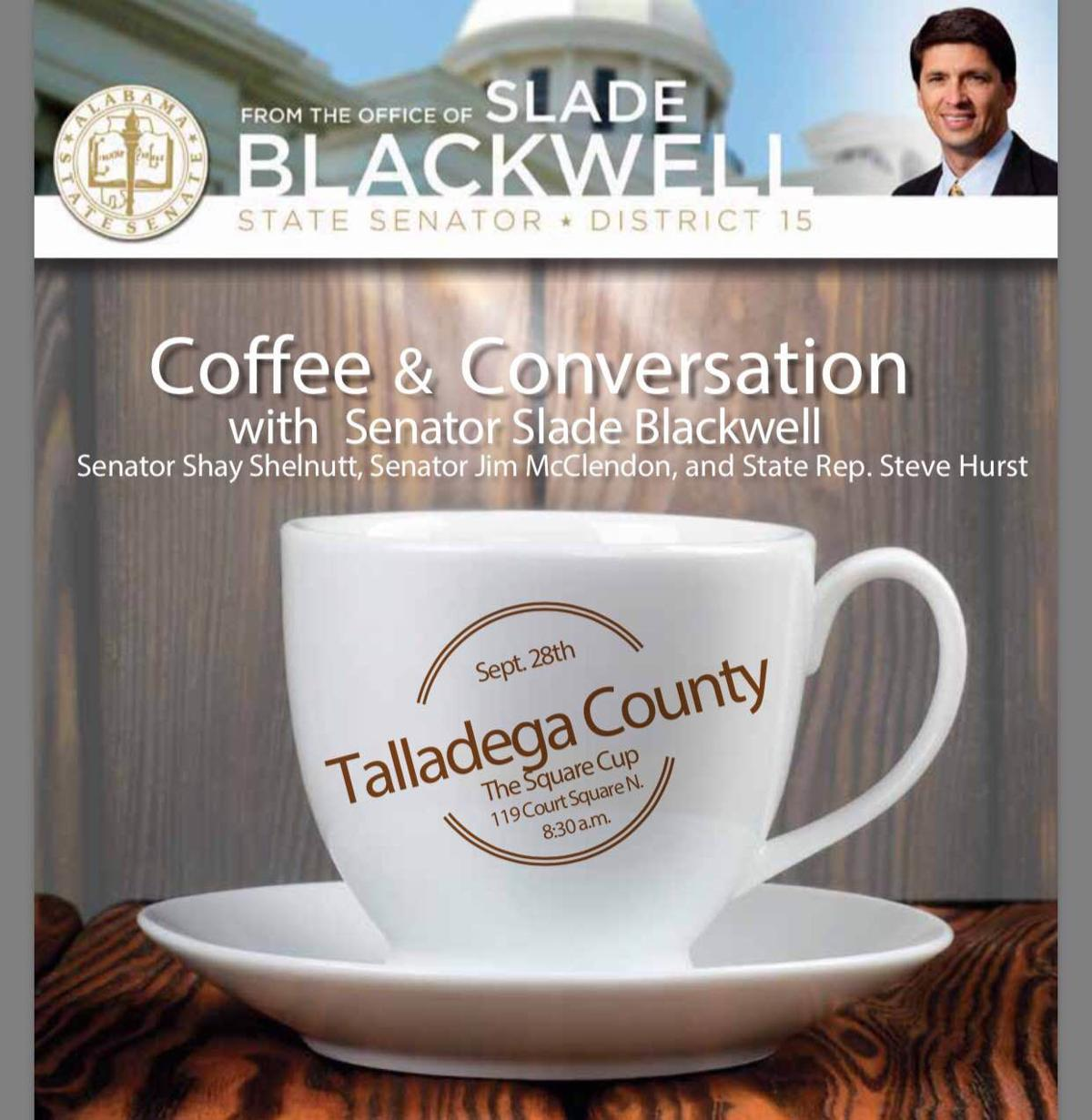 'Coffee and Conversation' planned for Wednesday
