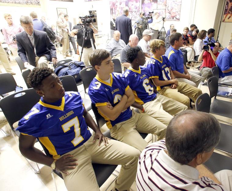 Piedmont BulldogsChampion's Challenge Press Conference