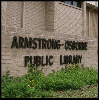 The Armstrong-Osborne Public Library in Talladega