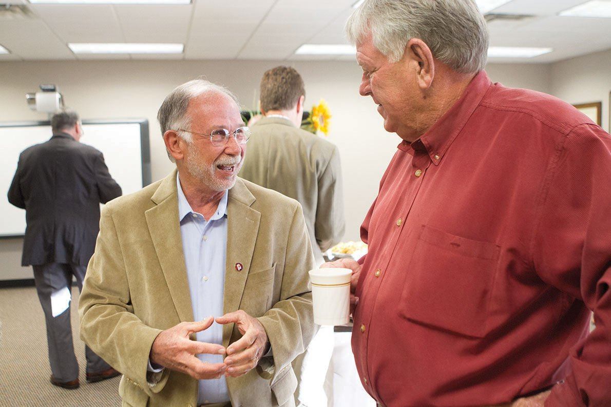 State Sen. Jim McClendon talks lottery, constitutional amendments during Sylacauga event