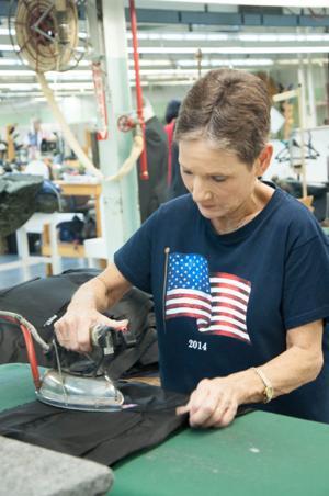 Heflin textile plant