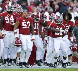 Mississippi State at Alabama Football