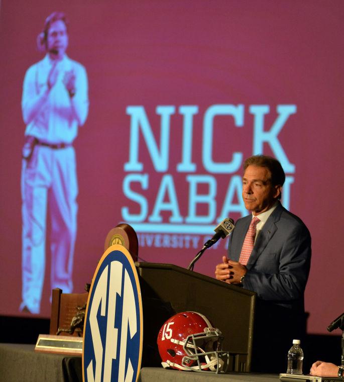 SEC Media Days-Alabama 21