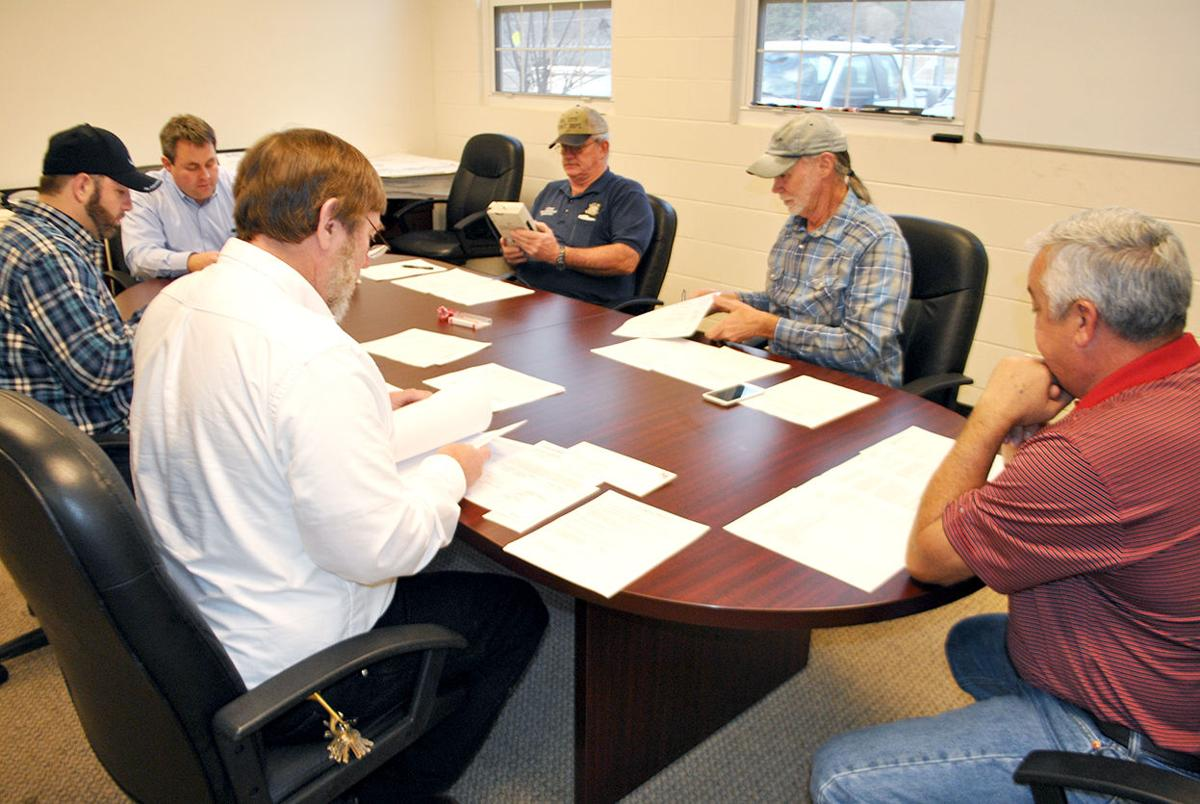 Coosa Valley Water Supply District Board meets to set water rates