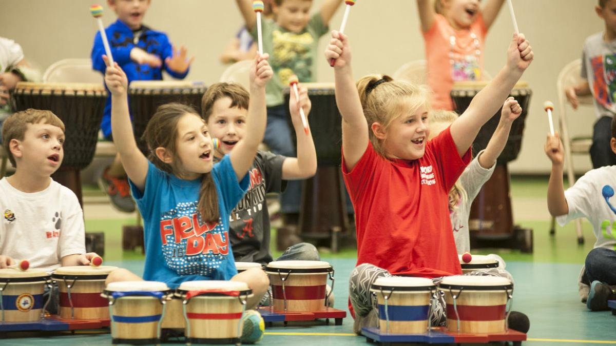 Dancing Drum program at Munford Elementary (photo gallery)