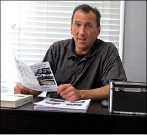 <p>Jim Evancho has had 25 years in criminal investigations experience. The class is designed for everyone. Photo: Anita Kilgore</p>