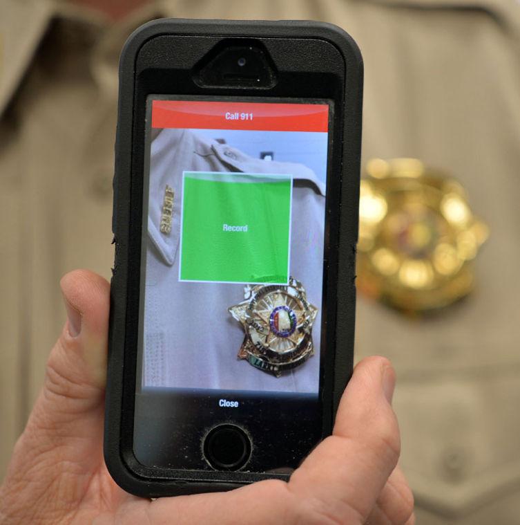 Crime reporting app