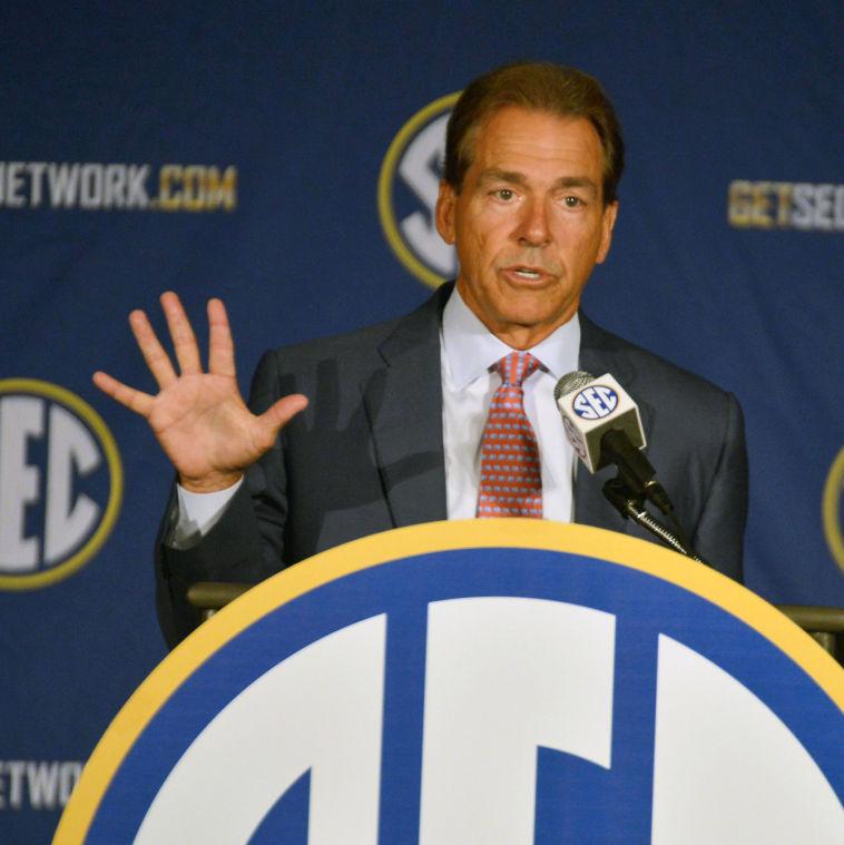 SEC Media Days-Alabama 26