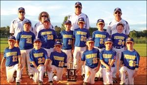 Piedmont's 7-and-8-year-old baseball team