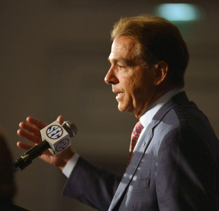 SEC Media Days-Alabama 27