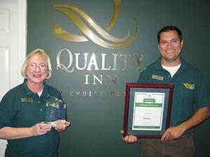 Quality Inn honored
