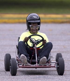 Anniston science camp go-kart
