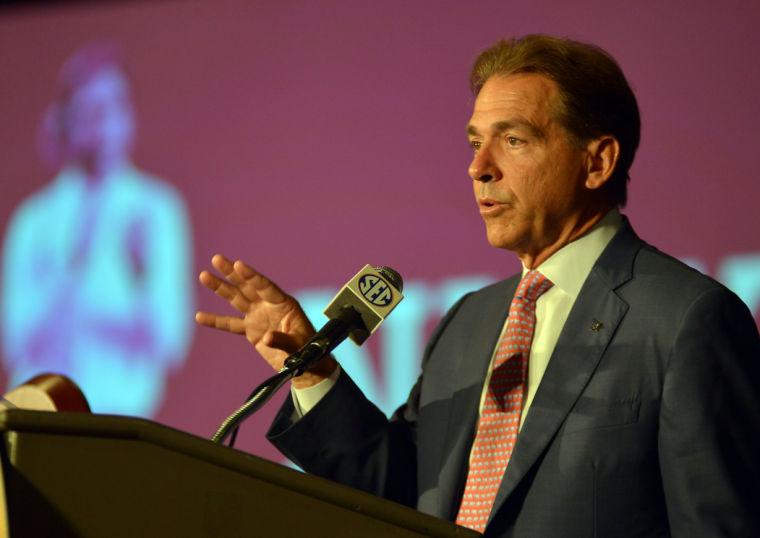 SEC Media Days-Alabama 28