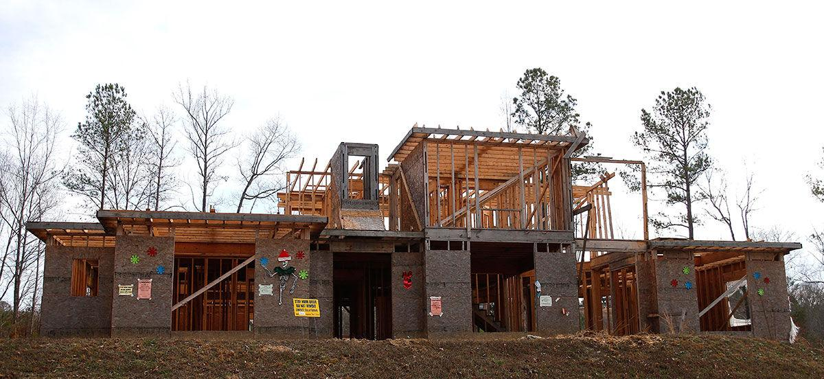 Demolition underway for oxford house at center of legal for Cider ridge