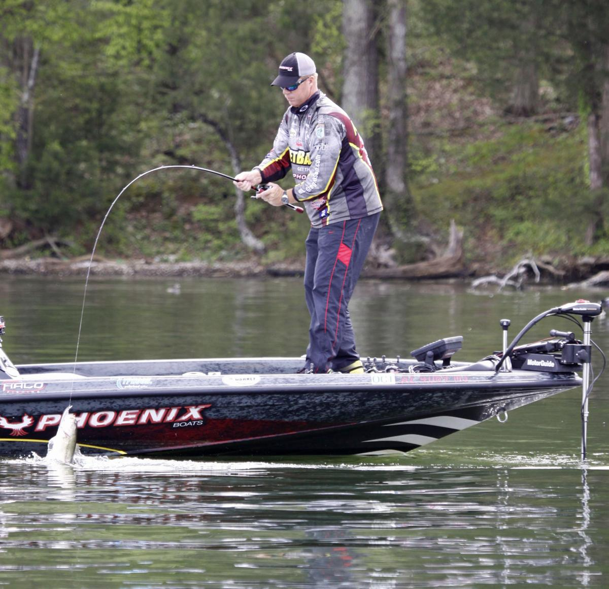 Charles johnson top gear and lures for spring bass for Spring bass fishing