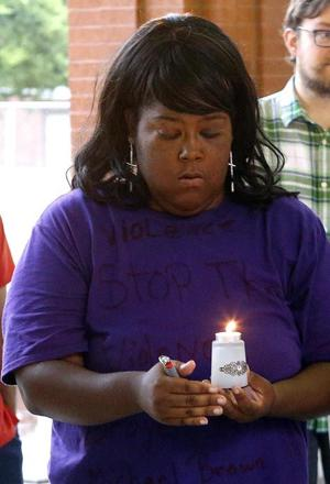 Michael Brown vigil