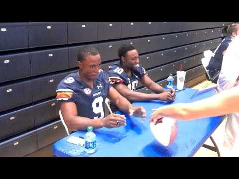 Roc Thomas at Auburn Fan Day