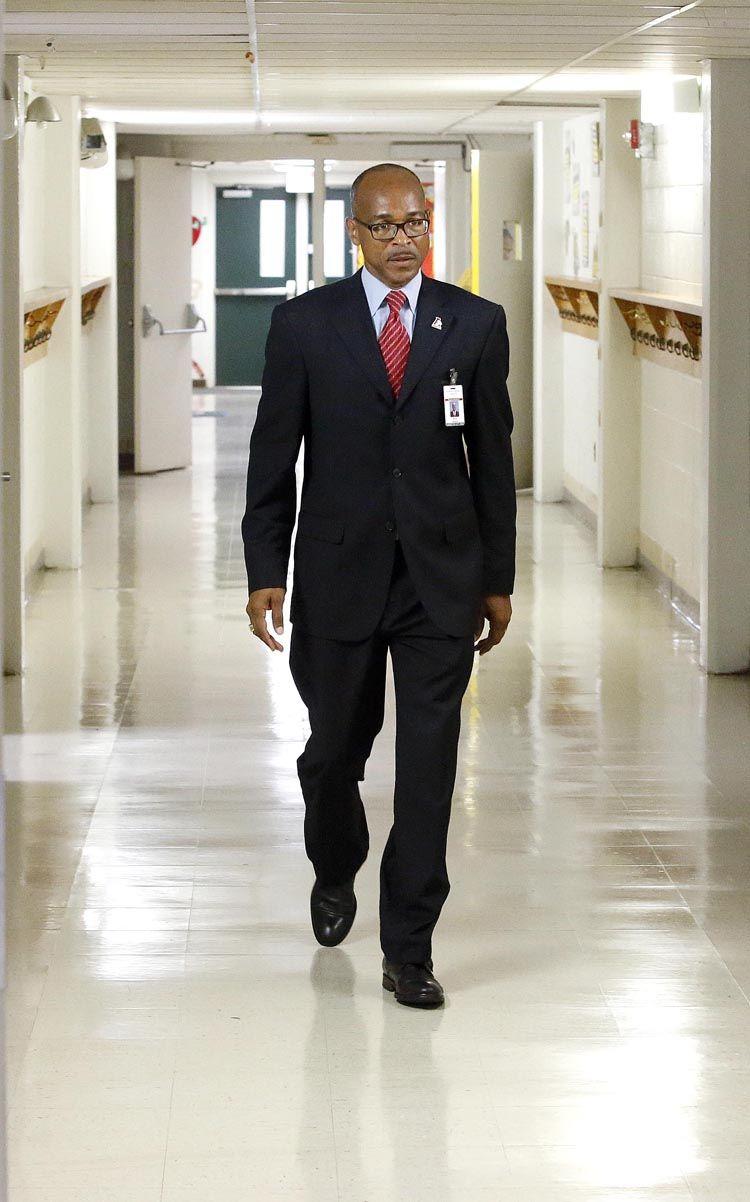 Anniston Superintendent Darren Douthitt