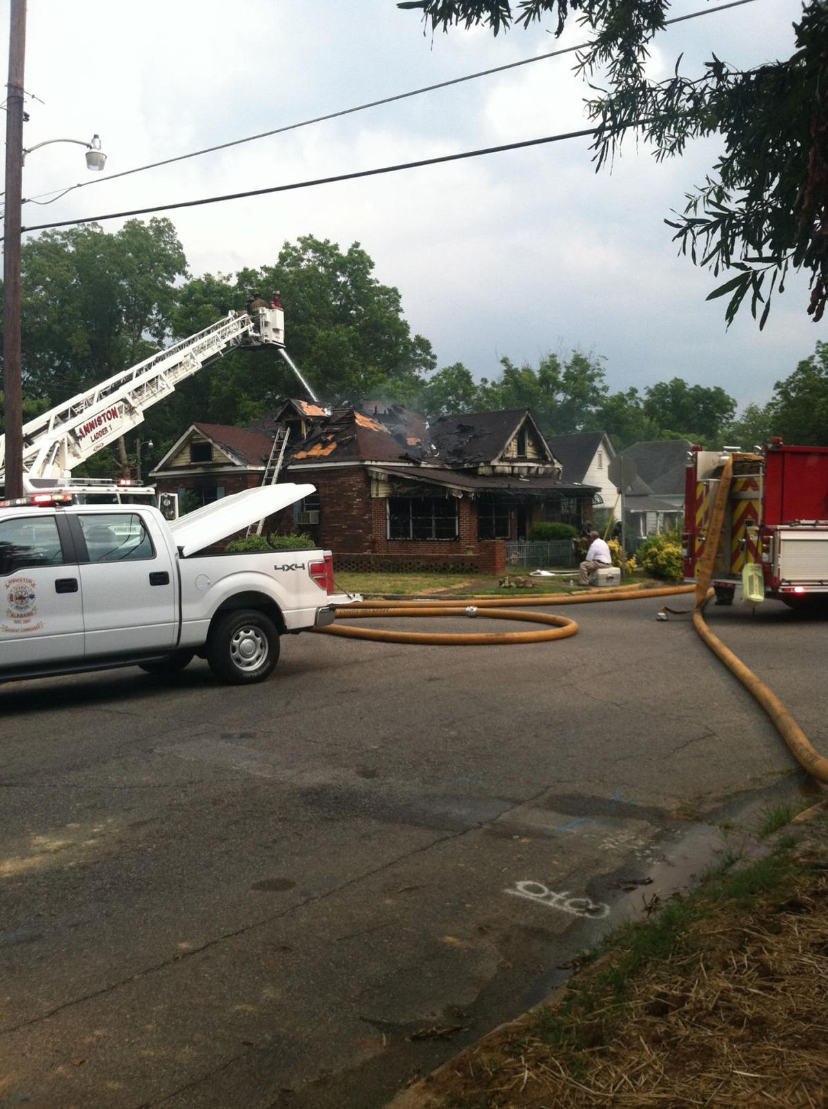 Walnut Avenue house fire