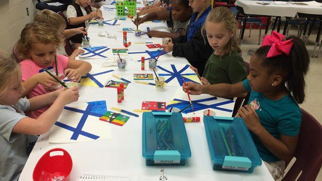 Leadership Club Day at RL Young Elementary (photos)