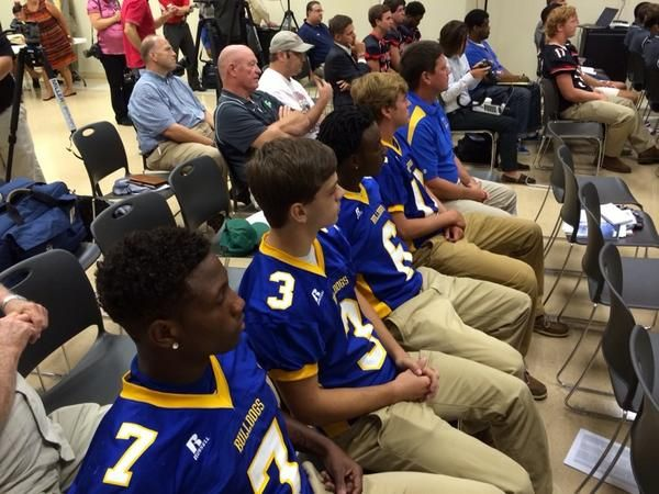 Piedmont at Champions Challenge news conference