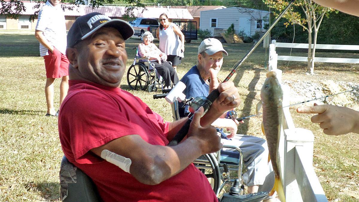 Residents, staff at Sylacauga Health & Rehab enjoying fall events