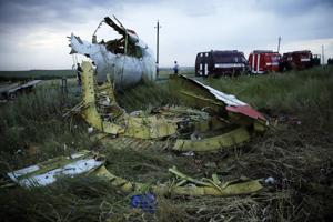 Malaysian Airline Crashes In Ukraine
