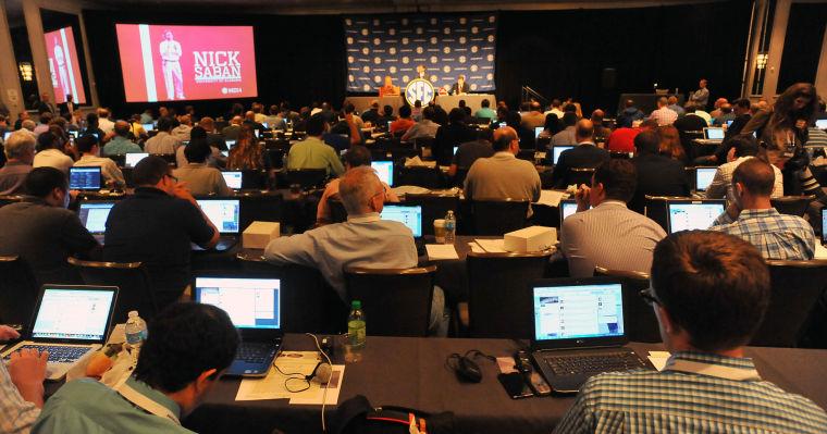 SEC Media Days-Alabama 36