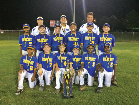 Piedmont's 9-and-10-year-old all-stars