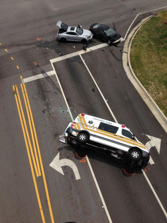 Oxford ambulance crash